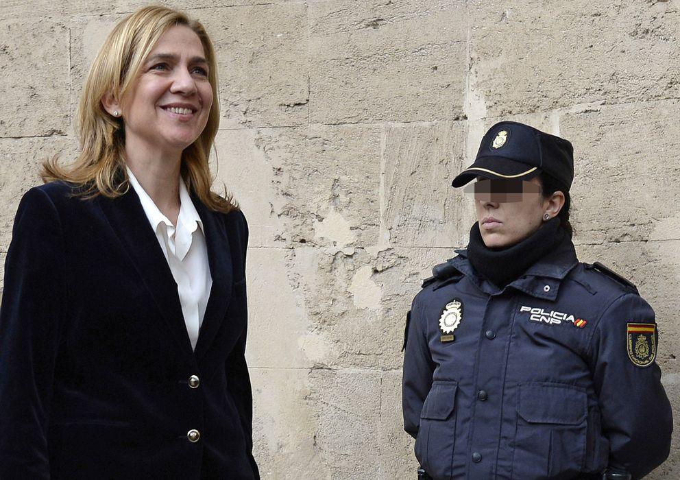 Foto: La infanta Cristina acudiendo a declarar en Palma de Mallorca (Gtres)