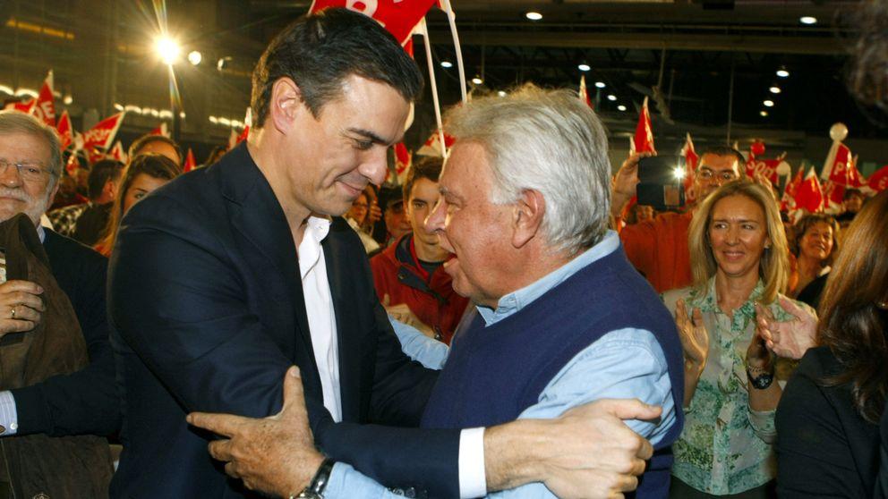 Ferraz y los barones no se mueven del 'no' al PP tras el aviso de Felipe González