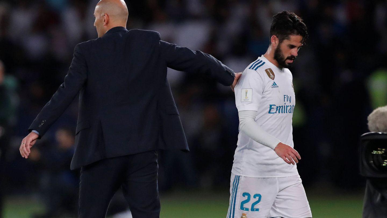 Zidane dijo el pasado viernes que no está siendo injusto con Isco. (Reuters)