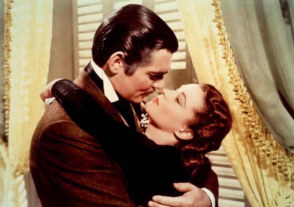 Foto: Clark Gable y Vivien Leigh en una escena de 'Lo que el viento se llevó'