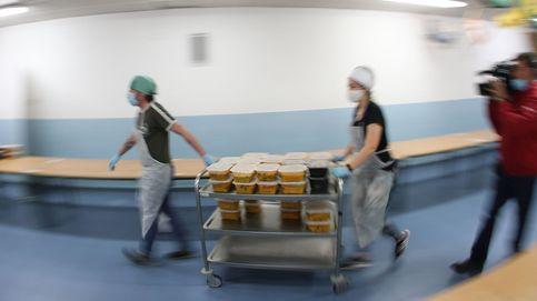 La Comunidad de Madrid distribuirá comidas desde este lunes en 164 puntos para más de 8.200 alumnos