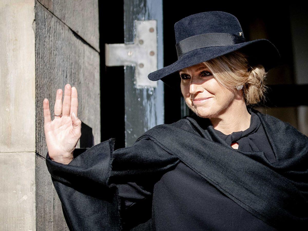 Foto: La reina Máxima, este lunes en Ámsterdam. (EFE)