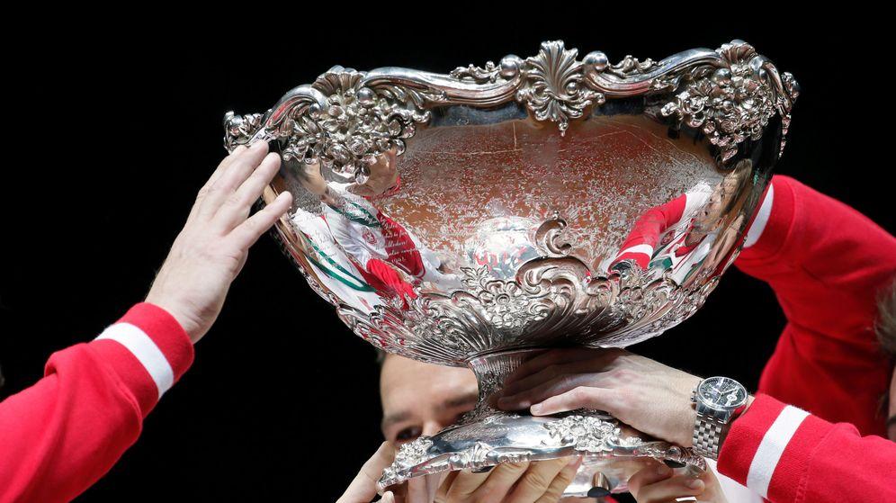 Foto: La Copa Davis. (Reuters)