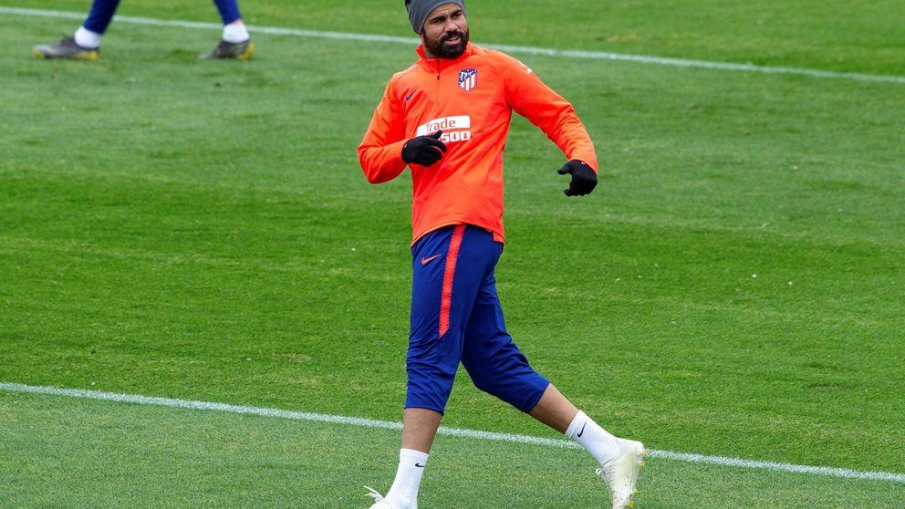 El futuro de Diego Costa en el Atlético que ni Simeone se atreve a asegurar