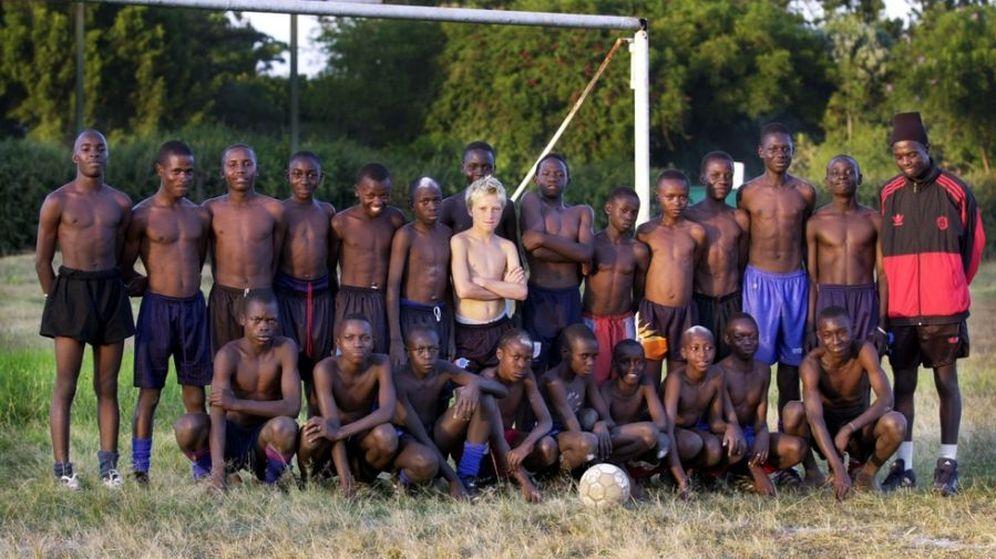 Foto: Guidetti en Kenia.
