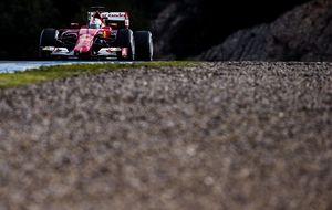 Ferrari vuelve a mandar y McLaren se queda nuevamente en el box
