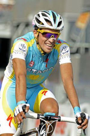 Contador se llevó la etapa reina pero Brajkovic conservó el liderato