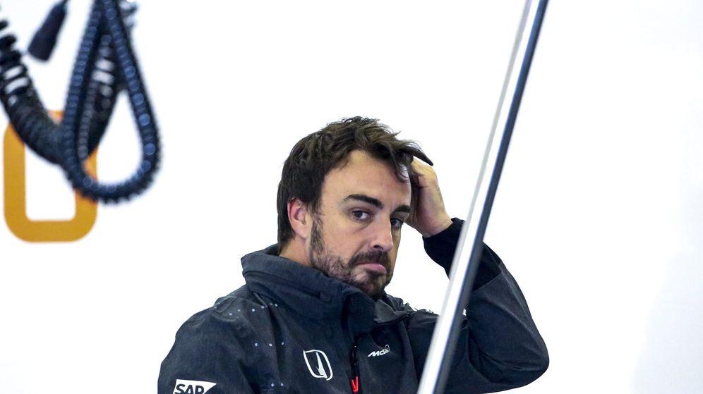 Foto: Fernando Alonso durante el GP de China. (EFE)