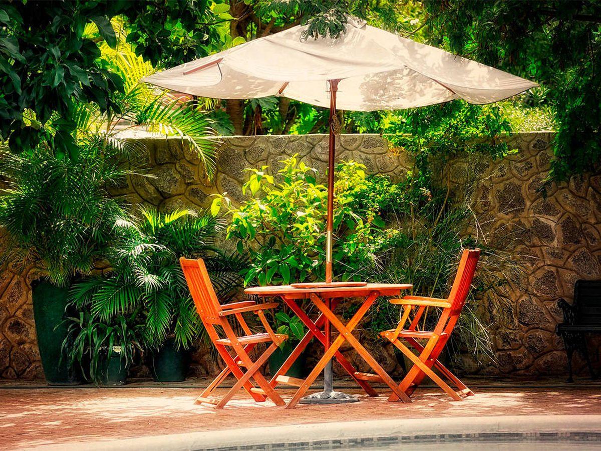 Foto: Sombrillas y toldos para protegerse del sol en el jardín o la terraza (Pixabay)