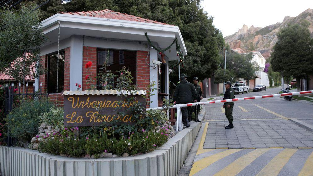 Foto: La residencia de la embajadora Mexicana en La Paz. (Reuters)