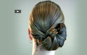 Los peinados de los Goya: un moño lateral de bailarina para Macarena Gómez