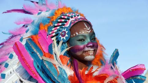 Festival de moda flamenca y el carnaval en Galicia: el día en fotos