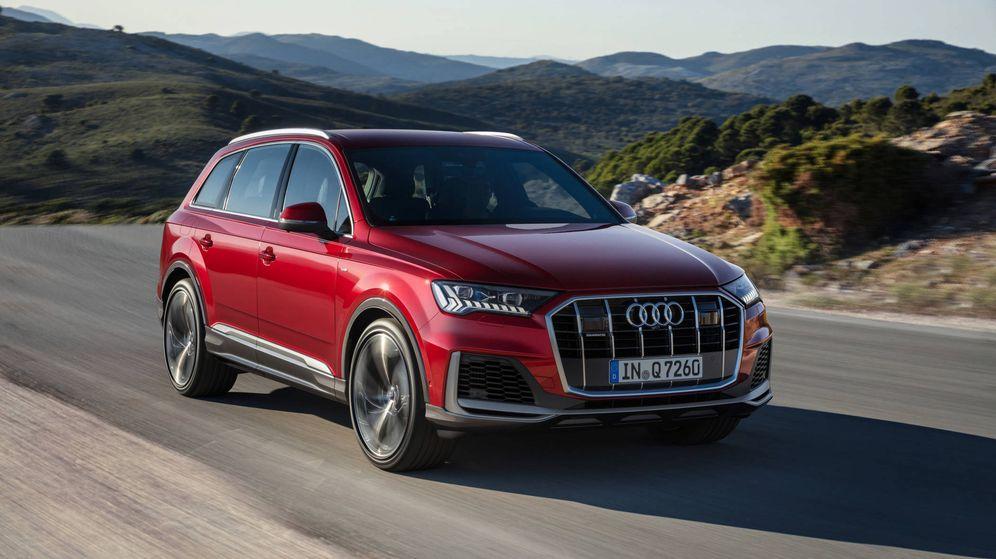 Foto: El nuevo Audi Q7, una actualización de la segunda generación del modelo, estará a la venta en septiembre.