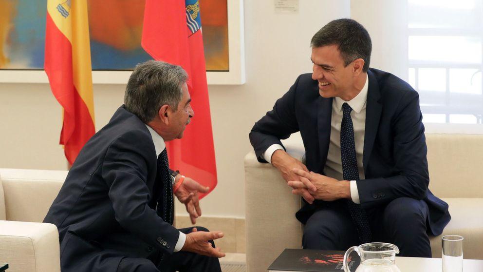 Pacto de apoyo mutuo para la investidura de Revilla en Cantabria y Sánchez en Madrid