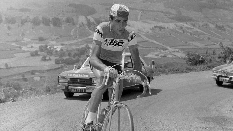 Luis Ocaña, en el Tour de Francia.