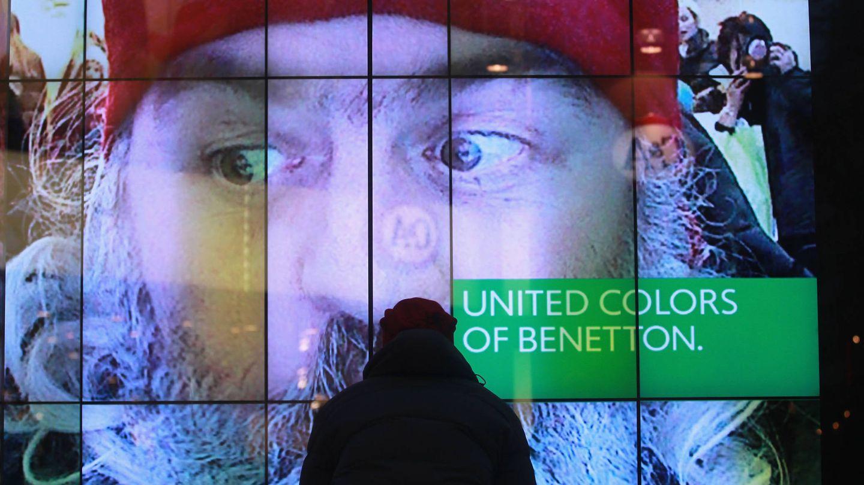 Campaña publicitaria de United Colors Of Benetton. (Getty).
