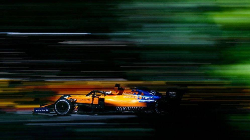 Foto: Sainz logró en el Gilles Villeneuve el mejor resultado de los viernes esta temporada (McLaren)