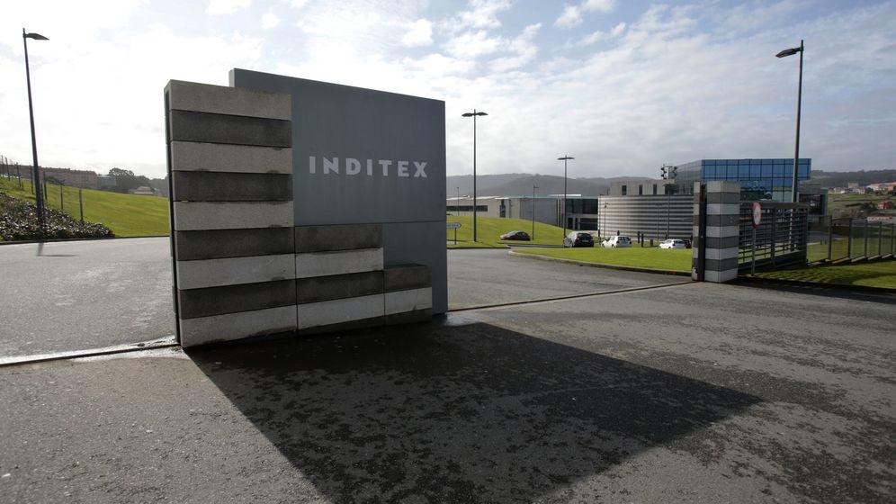 Foto: Entrada a las instalaciones de Inditex. (Reuters)