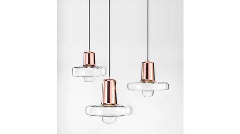 Lámparas de cristal: de techo, de mesa y de pie