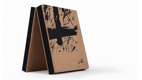 Las láminas más 'negres' de Antonio Tàpies