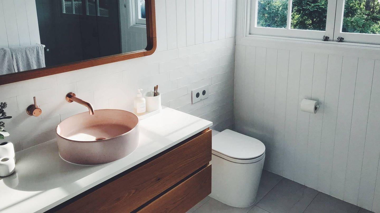 Claves para renovar un baño pequeño. (Cameron Smith para Unsplash)