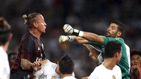 A Kiko Casilla le entra la risa cuando le preguntan si se ve titular del Real Madrid
