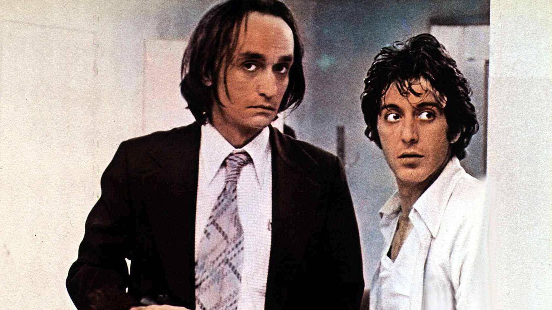 Con Al Pacino en 'Tarde de perros'. (CP)
