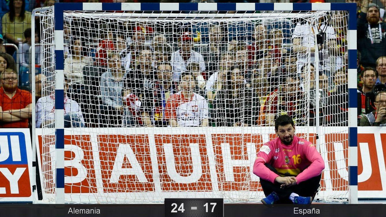Foto: España perdió la cuarta final europea de su historia. (Kacper Pempel/Reuters)