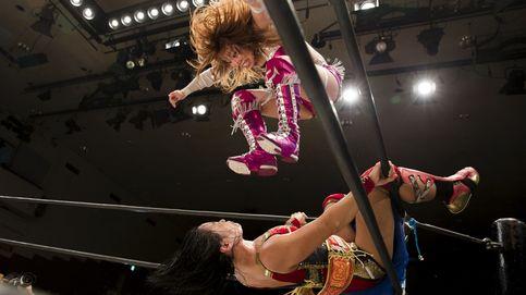 La lucha libre de mujeres japonesas, en imágenes