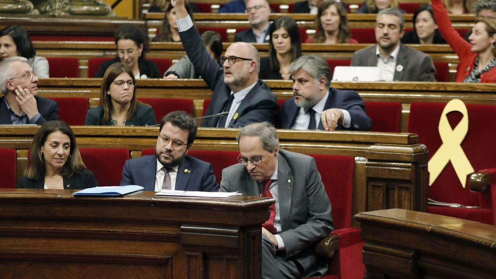 La CUP no garantiza ratificar a Torra en el Parlament porque ve al Govern agotado