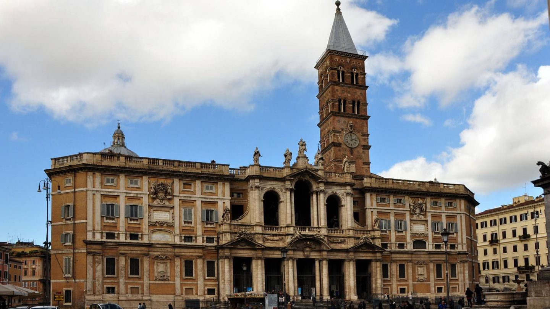 Basílica papal de Santa María la Mayor, en Roma (Italia)