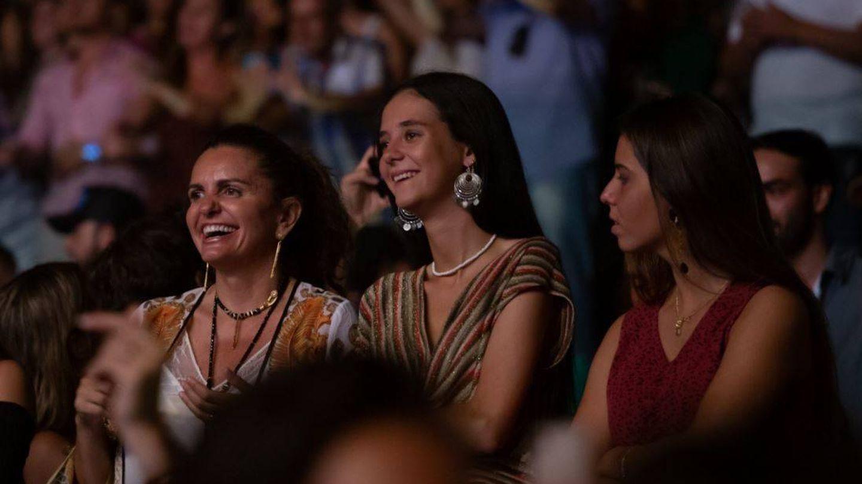 Victoria Federica, en el concierto Starlite.(Cortesía)