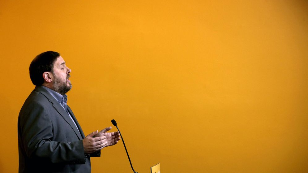 Foto: El presidente de ERC, Oriol Junqueras. (EFE)