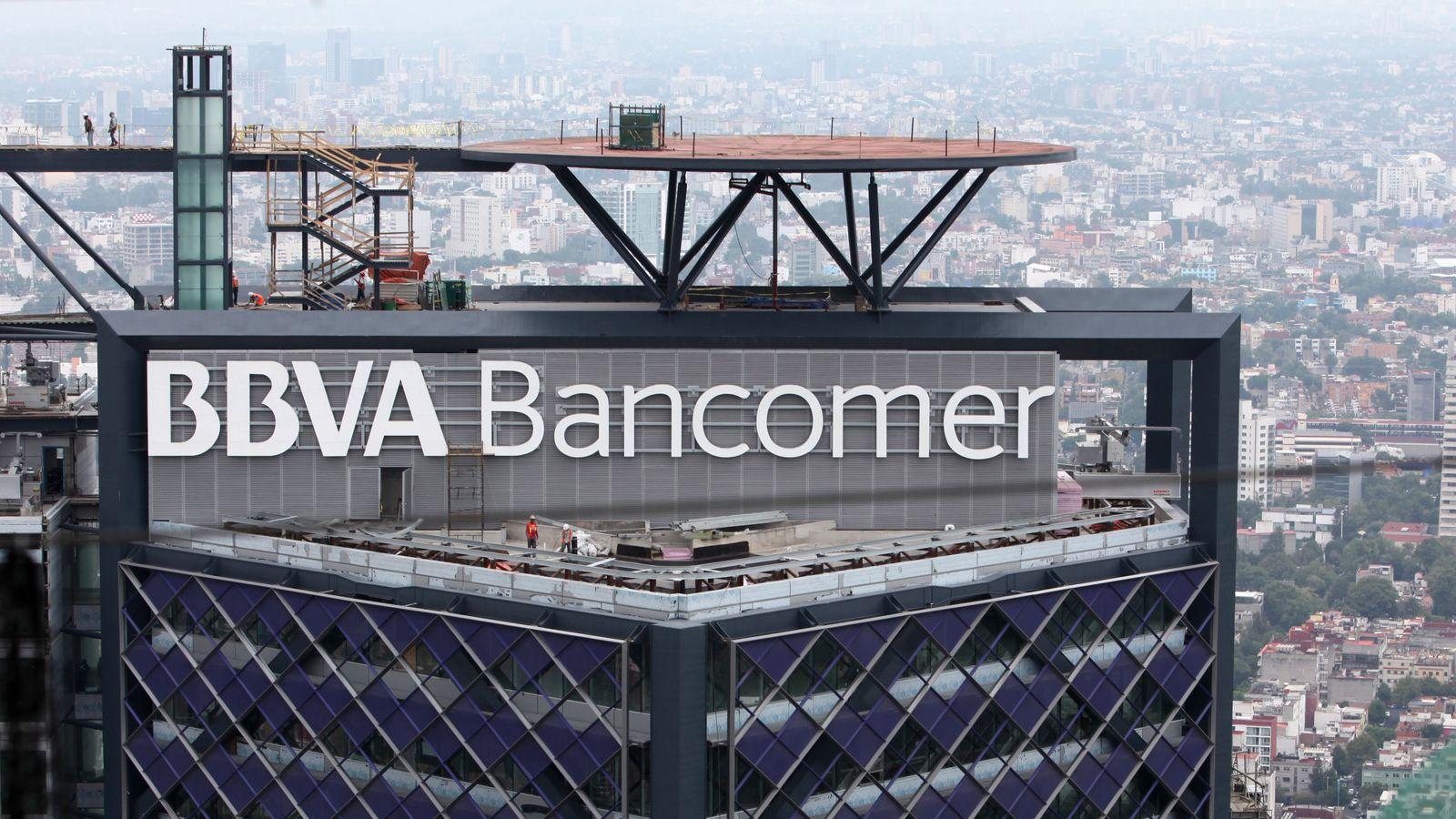 Foto: Edificio BBVA Bancomer en Ciudad de México. (EFE)