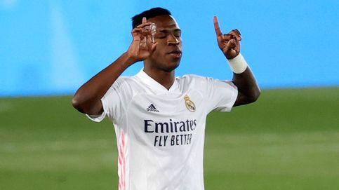 Vinícius salva al Real Madrid en un partido muy flojo contra el Valladolid (1-0)