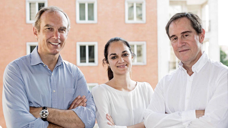 Nico Goulet, Rocío Pillado y Alberto Gómez, socios de Adara Ventures.