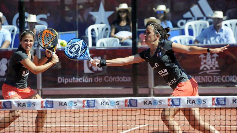 Patty Llaguno y Eli Amatriain ganan en Córdoba su primer título de la temporada