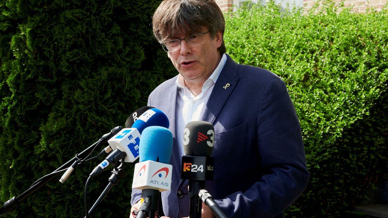 Carles Puigdemont en una foto del 20 de junio. (EFE)