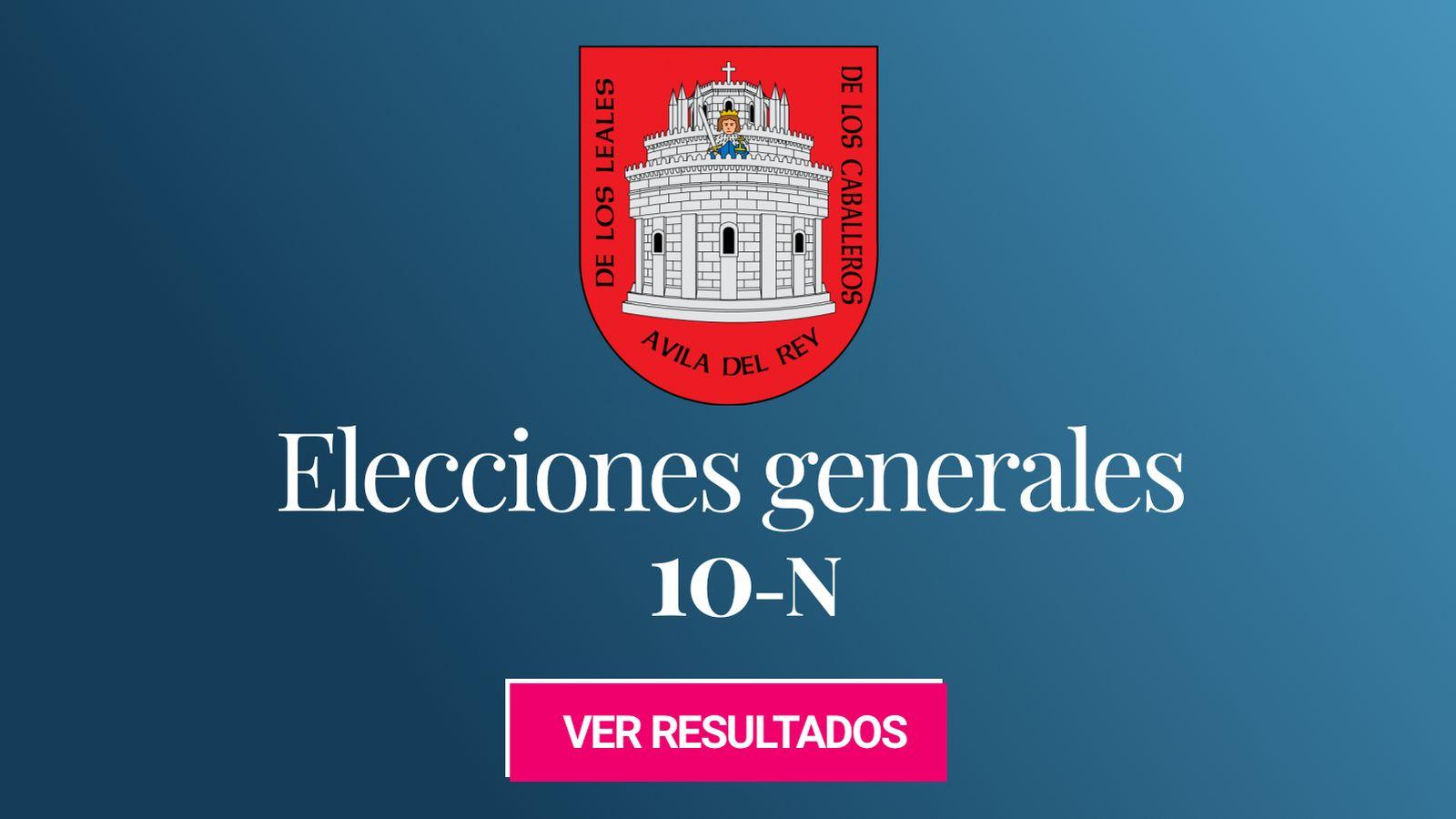 Foto: Elecciones generales 2019 en Ávila. (C.C./EC)