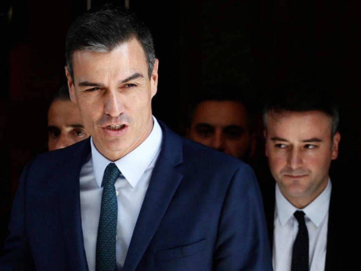 Foto: Iván Redondo (d), el hombre de confianza del presidente Pedro Sánchez (i). (EFE)