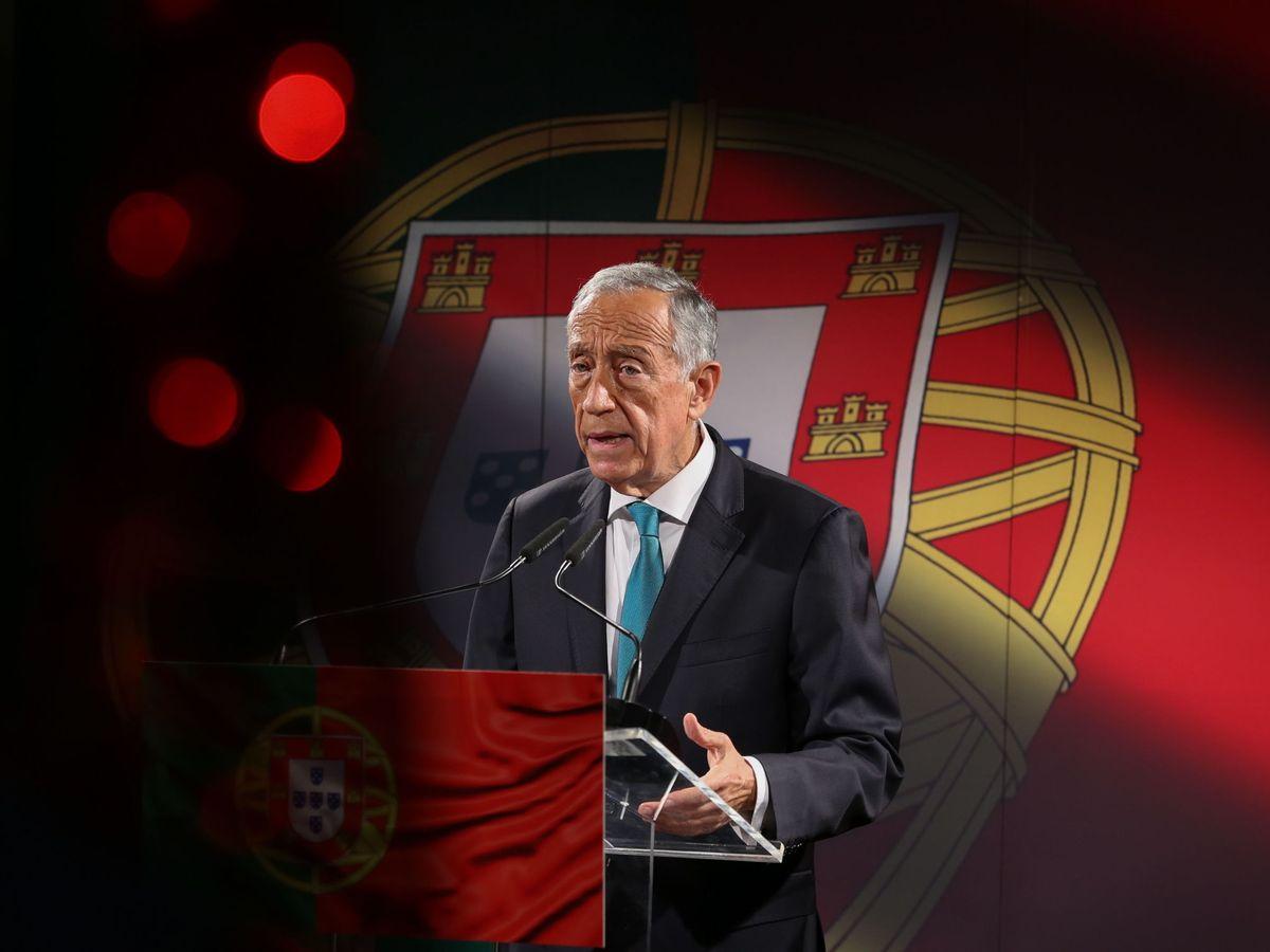 Foto: Marcelo Rebelo de Sousa parte como claro favorito en estas elecciones. (EFE)