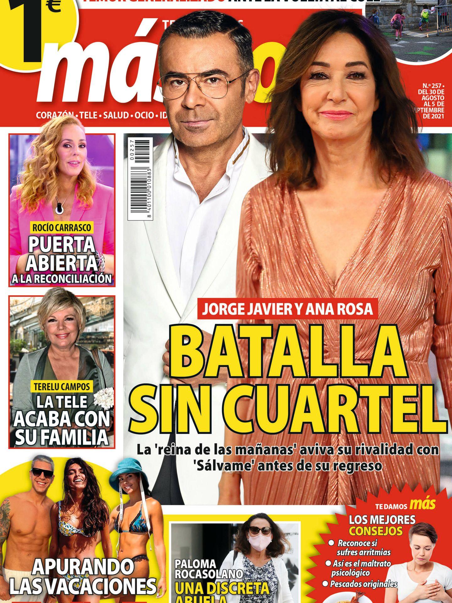 Portada de la revista 'Más Noticias'.