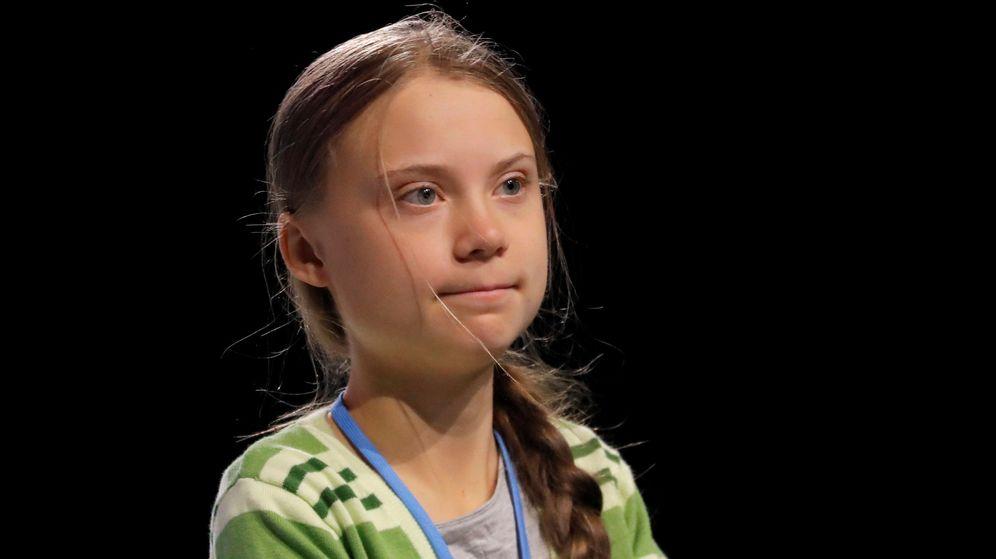 Foto: Greta Thunberg, en la cumbre del clima celebrada en Madrid. (Reuters)