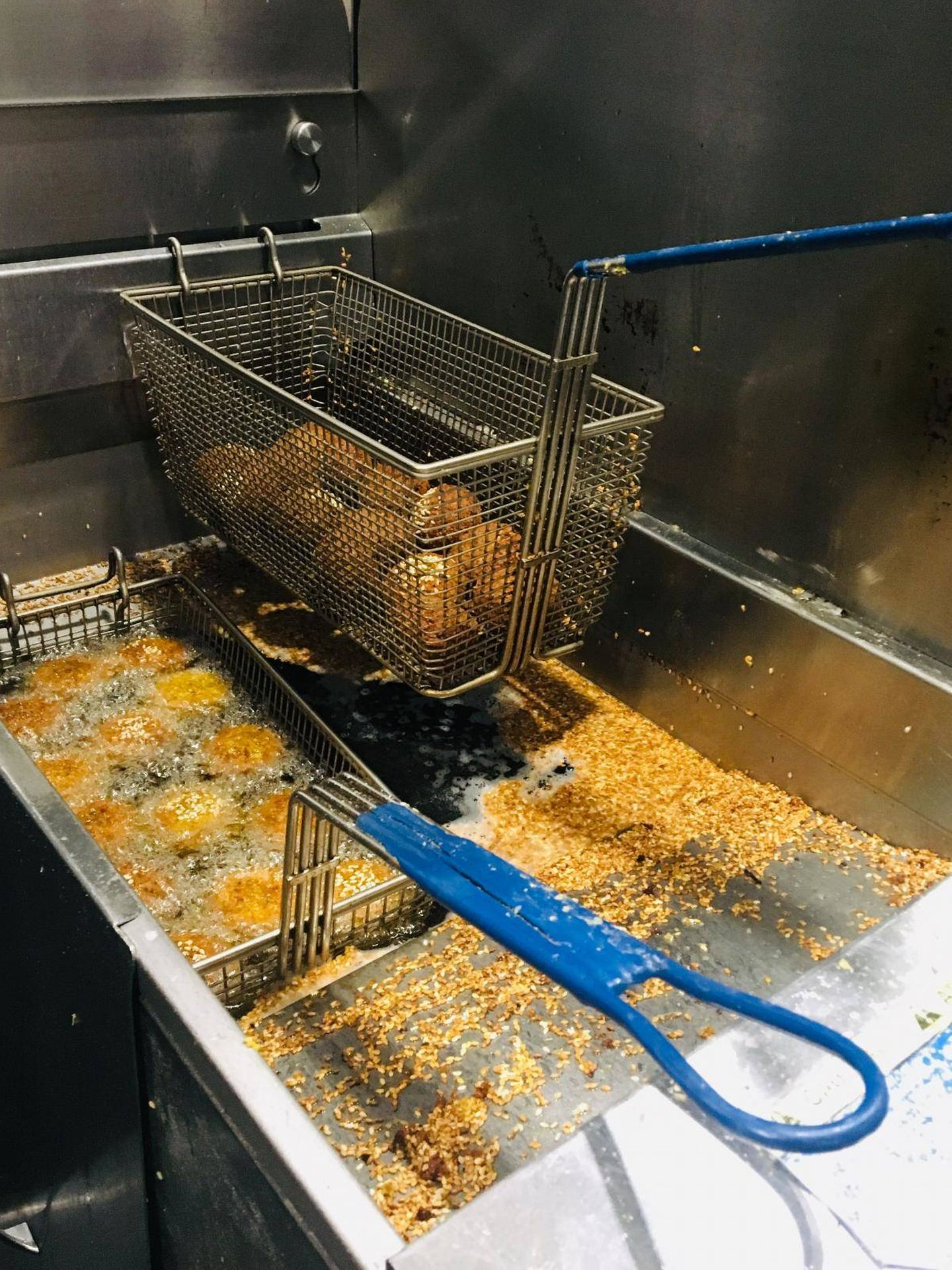 El proceso de obtención del aceite de fritura. (UMass Amherst)