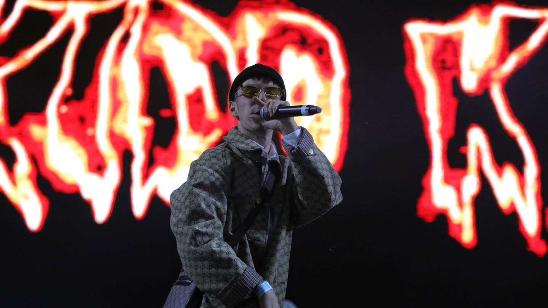 Kidd Keo se presenta en el festival Sónar de Ciudad de México. (EFE)