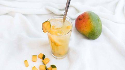 Limonada de piña y mango, refresco casero natural