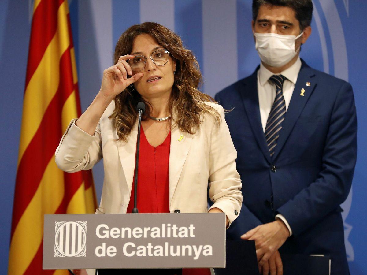 Foto: La consellera catalana de la Presidencia, Laura Vilagrà. (EFE)