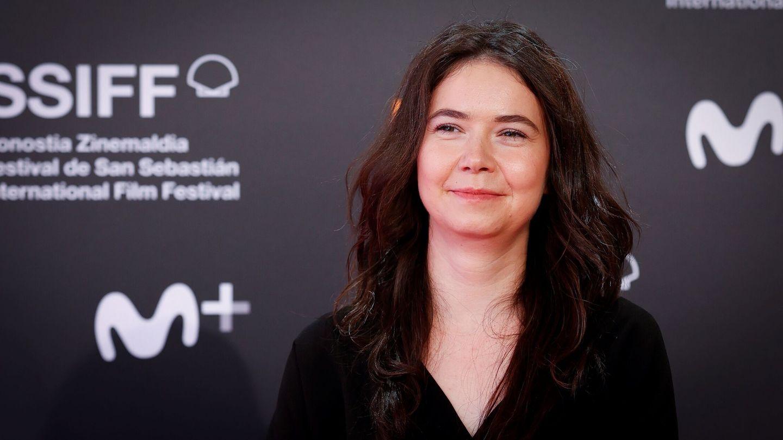 La directora y guionista Alina Grigore en la alfombra roja del Festival de San Sebastián. (EFE)