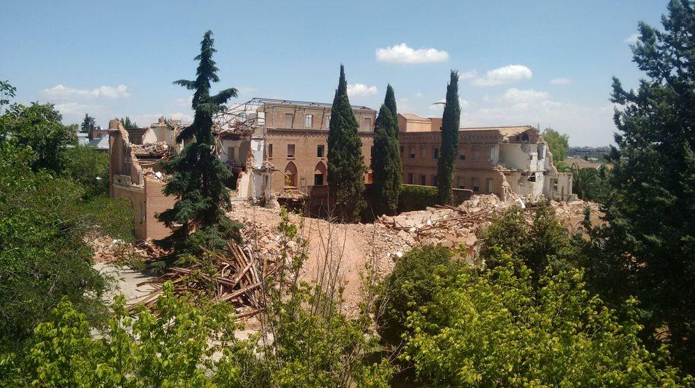 Foto: La parte demolida del convento (C.P.)