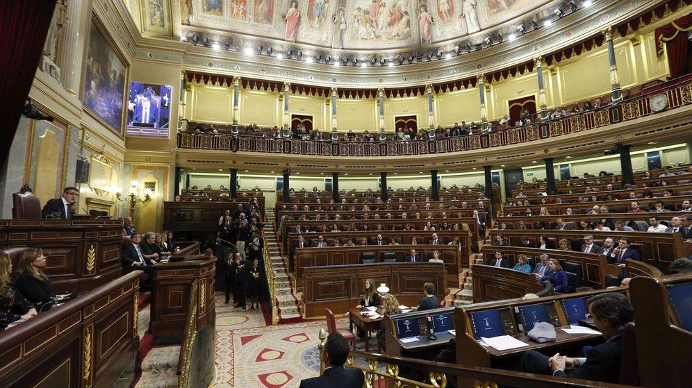 Foto: Sesión constitutiva de la Cámara Baja, el pasado 13 de enero. (EFE)